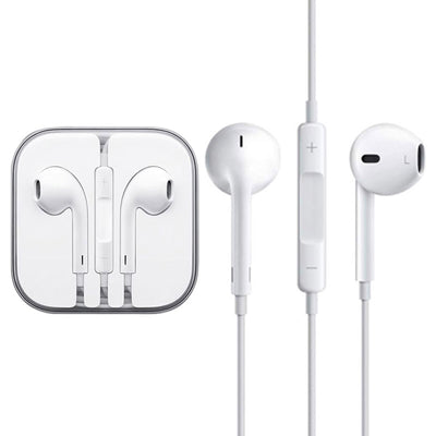 High Quality EarPods with Remote and Mic for iPhone 6 & 6 Plus, iPhone 5 & 5S & 5C, iPhone 4 & 4S, iPad / iPod touch, iPod Nano / Classic(White) - Beewik-Shop.com