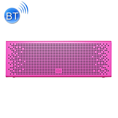 Original Xiaomi Portable Bluetooth Speaker with Mic Support TF card & Handsfree, For iPhone, Galaxy, Sony, Lenovo, HTC, Huawei, Google, LG, Xiaomi, other Smartphones(Pink)
