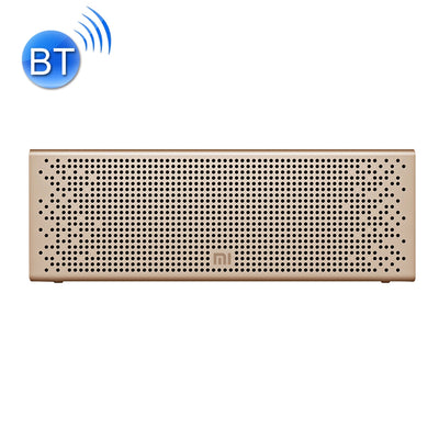 Original Xiaomi Portable Bluetooth Speaker with Mic Support TF card & Handsfree, For iPhone, Galaxy, Sony, Lenovo, HTC, Huawei, Google, LG, Xiaomi, other Smartphones(Gold)