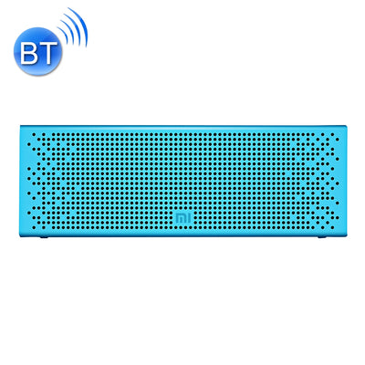 Original Xiaomi Portable Bluetooth Speaker with Mic Support TF card & Handsfree, For iPhone, Galaxy, Sony, Lenovo, HTC, Huawei, Google, LG, Xiaomi, other Smartphones(Blue)
