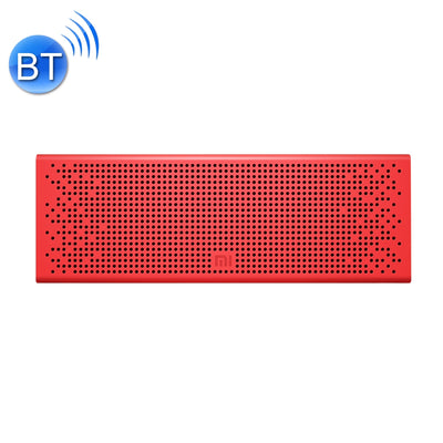 Original Xiaomi Portable Bluetooth Speaker with Mic Support TF card & Handsfree , For iPhone, Galaxy, Sony, Lenovo, HTC, Huawei, Google, LG, Xiaomi, other Smartphones(Red) - Beewik-Shop.com
