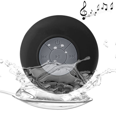 BTS-06 Mini Waterproof IPX4 Bluetooth V2.1 Speaker,Support Handfree Function, For iPhone, Galaxy, Sony, Lenovo, HTC, Huawei, Google, LG, Xiaomi, other Smartphones and all Bluetooth Devices(Black) - Beewik-Shop