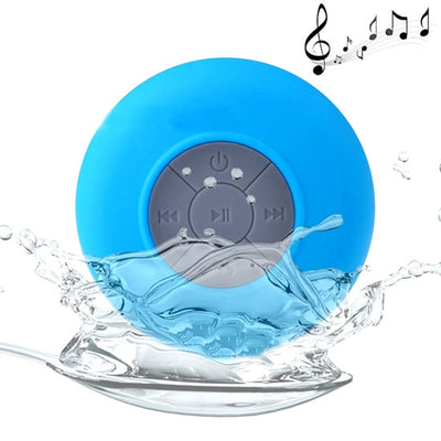 BTS-06 Mini Waterproof IPX4 Bluetooth V2.1 Speaker,Support Handfree Function, For iPhone, Galaxy, Sony, Lenovo, HTC, Huawei, Google, LG, Xiaomi, other Smartphones and all Bluetooth Devices(Blue) - Beewik-Shop