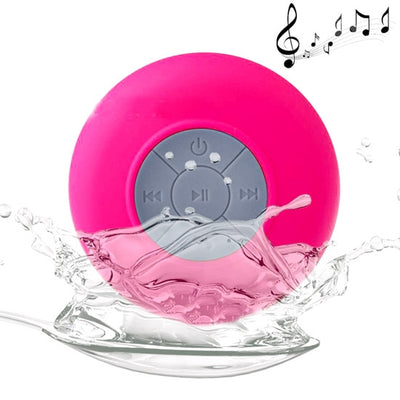 BTS-06 Mini Waterproof IPX4 Bluetooth V2.1 Speaker,Support Handfree Function, For iPhone, Galaxy, Sony, Lenovo, HTC, Huawei, Google, LG, Xiaomi, other Smartphones and all Bluetooth Devices(Magenta) - Beewik-Shop