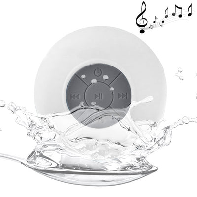BTS-06 Mini Waterproof IPX4 Bluetooth V2.1 Speaker,Support Handfree Function, For iPhone, Galaxy, Sony, Lenovo, HTC, Huawei, Google, LG, Xiaomi, other Smartphones and all Bluetooth Devices(White) - Beewik-Shop