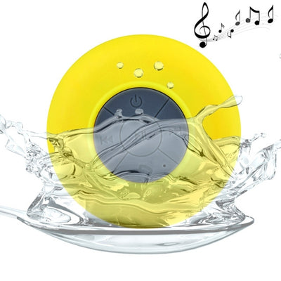 BTS-06 Mini Waterproof IPX4 Bluetooth V2.1 Speaker,Support Handfree Function, Mini Waterproof Bluetooth V2.1 Speaker for iPad / iPhone / Other Bluetooth Mobile Phone, Support Handfree Function, Waterproof Level: IPX4, BTS-06(Yellow) - Beewik-Shop.com