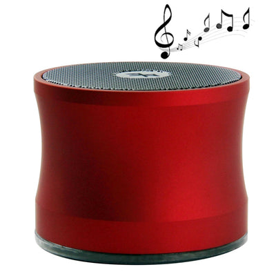 A109 Bluetooth V2.0 Super Bass Enceinte Portable (Rouge) - Beewik-Shop.com