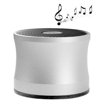 A109 Bluetooth V2.0 Super Bass Enceinte Portable (Argent) - Beewik-Shop.com