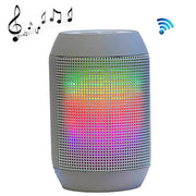Mini LED Pulse Bluetooth Speaker with Built-in LED Light Show & Mic, Support Hands-free Function, For iPhone, Galaxy, Sony, Lenovo, HTC, Huawei, Google, LG, Xiaomi, other Smartphones and all Bluetooth Devices(Grey) - Beewik-Shop