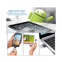 Sandisk Mini SDDD3 USB3.0 Dual OTG USB clé USB PenDrives High Speed Up to 150M/s pour Smartphone ANDROID - 16GB - Beewik-Shop.com
