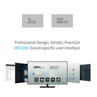 Mecool M8S Pro L Android-TV-Box - Android 7.1, Kodi 17.3, Octa Core-CPU, 3 GB RAM, 32 GB Speicher, Airplay, Miracast, DLNA - Beewik-Shop.com