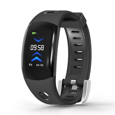 Fitness Tracker Bracelet-Black  - Heart Rate Monitor, Distance Counter, Pedometer, Blood Pressure, IP68.Waterproof - Beewik-Shop.com