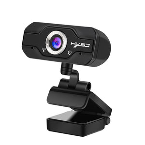 1080P Webcam - CMOS Image Sensor, Wide Angle Lens, Build-in Microphone, Plug and Play - Beewik-Shop