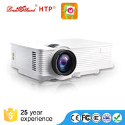 LED Projector - FHD Support, Android 4.4.800 Lumen LED, 800x480P Native Resolution, Built-In Speaker, HDMI, VGA, AV