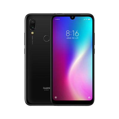 Smartphone Xiaomi Redmi 7 avec 4 Go de RAM, 64 Go de ROM, Snapdragon 632, Appareil photo 12MP double AI, batterie 4000mAh - Version CN noire - Beewik-Shop.com