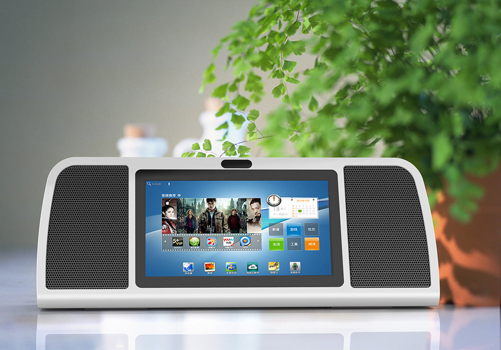 Sound Pad Entertainment System - 7 Inch Tablet PC, 20 Watt Speaker,  Wireless Microphone, 7500mAh Battery, Android OS