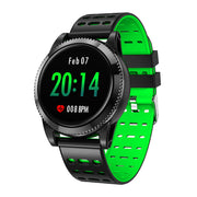 Sports Smart Bracelet - 1.3 Inch IPS Screen, 220mAh Battery, Pedometer, Blood Pressure Monitoring, Waterproof IP67 (Green) - Beewik-Shop.com