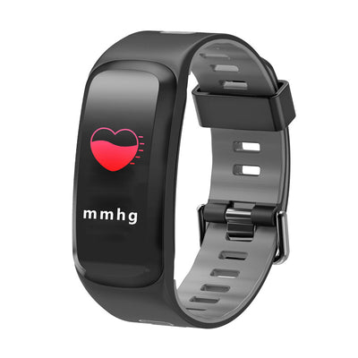 NO.1 F4 Fitness Tracker Bracelet - 0.96 Inch OLED Screen, Bluetooth 4.0, Multi-sport Mode, Heart Rate, Blood Pressure (Gray) - Beewik-Shop.com