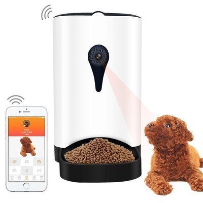 Distributeur automatique d'aliments Application SmartPhone Chien Chat - Beewik-Shop.com