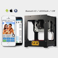 NEJE DK - Graveur laser BL 1500mw - Windows, iOS, Android Support - Beewik-Shop.com