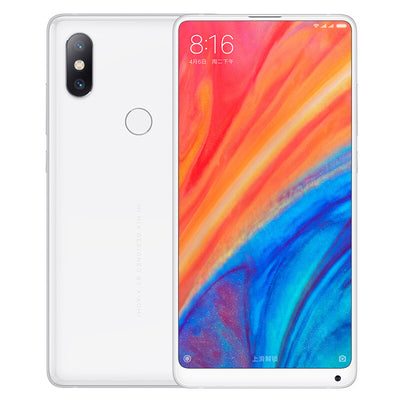 Xiaomi Mi Mix 2S Android Phone - Qualcomm Snapdragon 845, 128B ROM, Octa-Core, Bluetooth 5.0, Wireless Qi Charging (White) - Beewik-Shop.com