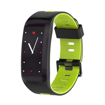 NO.1 F4 Fitness Tracker Bracelet - 0.96 Inch OLED Screen, Bluetooth 4.0, Multi-sport Mode, Heart Rate, Blood Pressure (Green) - Beewik-Shop.com