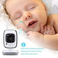 Baby Phone Video sans fil 300m Distance température vision nocturne 3M - Beewik-Shop.com