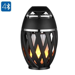 Altoparlante Bluetooth Luce LED gialla Effetto luce Bluetooth 4.2 - Beewik-Shop.com