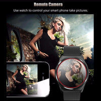 Bluetooth Sports Watch Ordro B7 - Heart Rate Monitor, Pedometer, Sleep Monitor, Calorie Counter, Call Reminder, iOS + Android