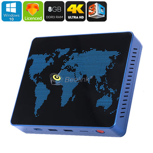Mini PC S1 Mini PC Windows 10 Intel Apollo Lake CPU 8GB DDR3 RAM- Intel HD Graphics- 4K 3D Movie - Beewik-Shop.com