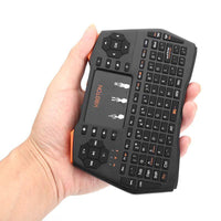 Clavier sans fil 2,4 GHz Touchpad 92 touches QWERTY GAMING CTR 1020mAh - Beewik-Shop.com
