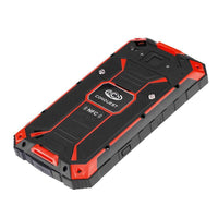 Conquest S6 Rugged Phone - 5 Inch HD Display, 4G, Dual-Band WiFi, Android 6.0, IP68, Octa-Core CPU, Fingerprint, NFC (Red)
