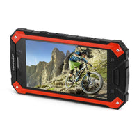 Conquest S6 Rugged Phone - 5 Inch HD Display, 4G, Dual-Band WiFi, Android 6.0, IP68, Octa-Core CPU, Fingerprint, NFC (Red) - Beewik-Shop.com