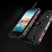 Conquest S8 Rugged Phone 2017 Edition - Android 6.0, Octa-Core CPU, 4GB RAM, Dual-Band WiFi, 5 Inch FHD Display, 4G (Red) - Beewik-Shop.com