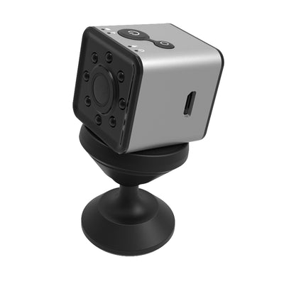 Wifi Mini Sports Action Camera- FHD Resolutions, Loop-Cycle Recording, Motion Detection, Night Vision-Silver - Beewik-Shop.com