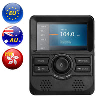 DAB Monitor - 3-Inch Display, FM Transmitter, Bluetooth, Aux Out, DAB Band III Frequency Range - Beewik-Shop.com