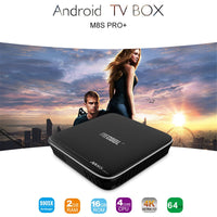 MECOOL M8S Pro Android TV Box - Android 7.1, Quad-Core CPU, 8GB ROM, 32GB SD Card Slot, 4K Support, WiFi, DLNA, Google Play - Beewik-Shop.com