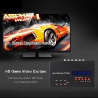 EZCAP 1080P HDMI Recorder - HDMI, YPbPR, CVBS, Audio, Mic, 4GB RAM, Supporting XBOX One, 360, PS4, PS3, DVD, PC - Beewik-Shop.com