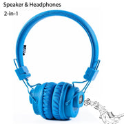 NIA X5 Bluetooth Headphones - 40mm HD Drivers, FM Radio, SD Card Slot, Wireless Headphones - Beewik-Shop.com