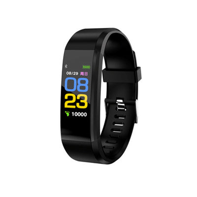 Pro5 Bluetooth Fitness Tracker - Heart Rate, Pedometer, Calorie Counter, Notifications, Calls, 0.96 Inch Screen, IP67 (Black) - Beewik-Shop.com