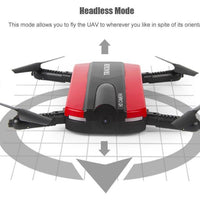 Golden Star JXD 523 Mini Drone - 0.3MP Camera, 480p Video, WiFi App Control, Foldable Design, FPV Support, 40M Range