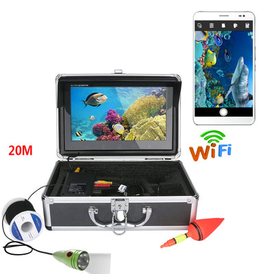 10.1 inch Wireless WIFI visible fishing device 20 meters mobile phone to watch 1000lines of high definition underwater fishing d - Beewik-Shop.com