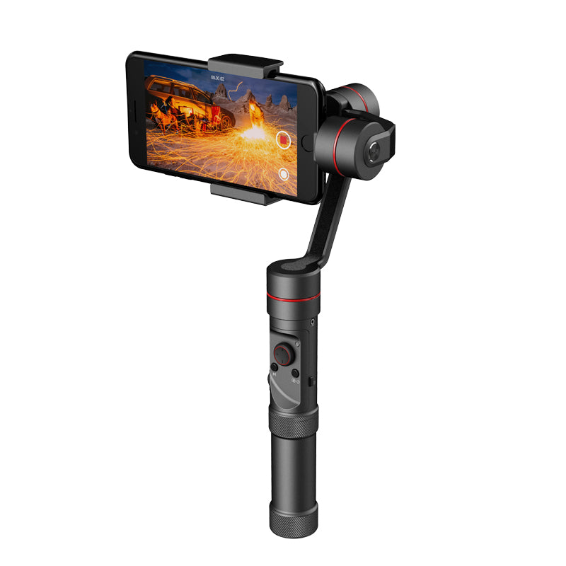 Zhiyun Tech Smooth 3 Smartphone Gimbal - For 6-Inch Phone, Supports GoPro Hero Cameras, 26650mAh, App Support, Charging Mode - Beewik-Shop.com