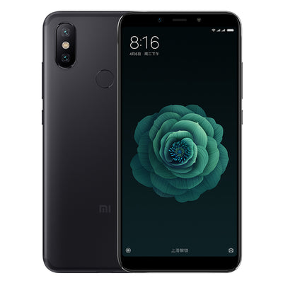 Xiaomi X6 Android SmartPhone - 5.99 Inch Screen, 6GB RAM, Dual Camera, Fingerprint, Bluetooth 5.0 (Black) - Beewik-Shop