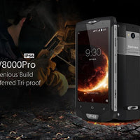 HK Warehouse Blackview BV8000 Pro Android Phone - 2 IMEI, IP68, 1080p, Android 7, 6GB RAM, Octa-Core, 16MP Cam (Gold) - Beewik-Shop.com