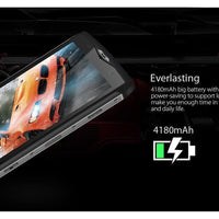 HK Warehouse Blackview BV8000 Pro Android Phone - Android 7, 16MP Cam, 2-IMEI, IP68, Octa-Core, 6GB RAM, 1080p (Silver)