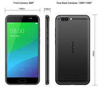 HK Warehouse Ulefone Gemini Pro Android Smartphone  - Android 7.1, Deca-Core CPU, 4GB RAM, 4G, Dual-IMEI, Dual-Lens 13MP Cam