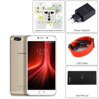 HK Warehouse UMIDIGI Z1 Android Phone - 4000mAh, Android 7.0, FHD Display, Helio P20 CPU, 6GB RAM, Dual-Cam (Gold)