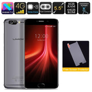 HK Warehouse UMIDIGI Z1 Android Phone - Android 7.0, Helio P20 CPU, 6GB RAM, FHD Display, 4000mAh, Dual-Cam (Gray) - Beewik-Shop.com