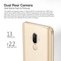 HK Warehouse Ulefone S8 Pro Android Smartphone - Android 7.0, HD Display, 4G, Dual-IMEI, MTK6737 CPU, 2GB RAM, 13MP Cam (Gold) - Beewik-Shop.com